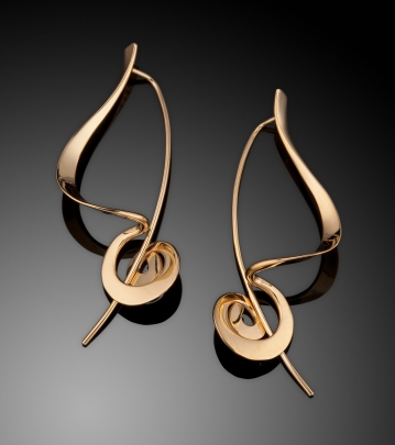 E-99  Sculptural Earrings